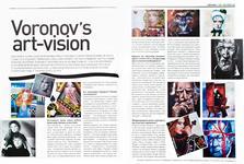 13. «Fashion Week». Февраль 2011, №53. «Voronov's art-vision», с. 112-113