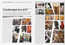 15. «Fashion Week». Март 2011, №54. «Contemporary art», с. 152-154