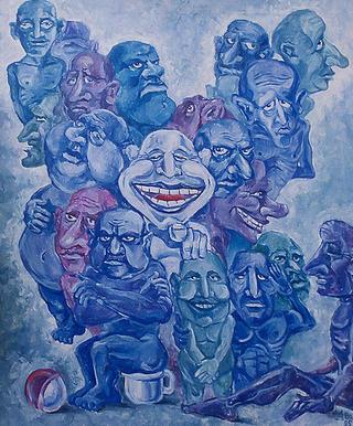 1996 - «5 стариков и 7 клоунов».