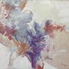 TENDERNESS. 1998. Canvas, oil. 120х110 cm