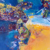 SEA TURTLE. 1997. Canvas, oil. 70х90 cm