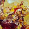 FLEDGLING. 1999. Canvas, oil. 100х80 cm