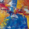 PARADISE BIRDS. 2000. Canvas, oil. 120х100 cm