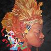 BUNSI. 2011. Canvas, oil. 100х100 cm