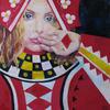 QUEEN OF DIAMONDS. 2010. Canvas, oil. 60х60 cm
