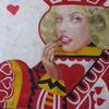 QUEEN OF HEARTS. 2010. Canvas, oil. 60х60 cm