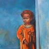 LITTLE NEGRO. 2009. Canvas, oil. 50х70 cm