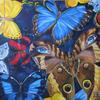 BUTTERFLIES. 2009. Canvas, oil. 80х80 cm