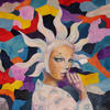 SERIES MASKS. 2009. Canvas, oil. 60х60 cm