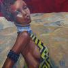 ZANZIBAR. 2008. Canvas, oil. 60х60 cm