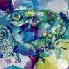 CHAMELEONS 69. 2000. Canvas, oil. 80х100 cm