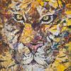 PORTRAIT OF A TIGER. 2010. Canvas, oil. 100х120 cm
