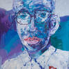 MY NEIGHBOR IS GEEK. 2010. Canvas, oil. 100х120 cm