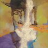 NO WISDOM LIKE SILENCE. 2010. Canvas, oil. 90х90 cm
