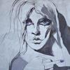 WOMEN - FUCK. 2010. Canvas, oil. 100х100 cm
