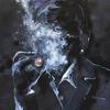 BLACK BOSS. 2010. Canvas, oil. 100х100 cm