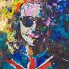 PORTRAIT OF A YOUNG BRIT. 2010. Canvas, oil. 100х120 cm