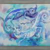 YIN & YANG. 1997. Canvas, oil. 100х80 cm