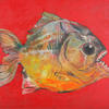 PIRANHA. 2000. Canvas, oil. 120х100 cm